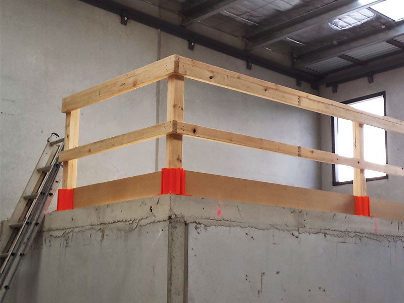 Buy Safety Boots Temporary Guardrail System Allfasteners