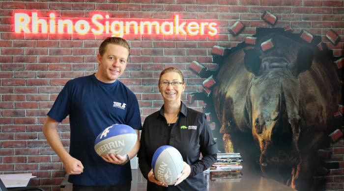Client Story: Rhino Signmakers Hit the Lucky Number