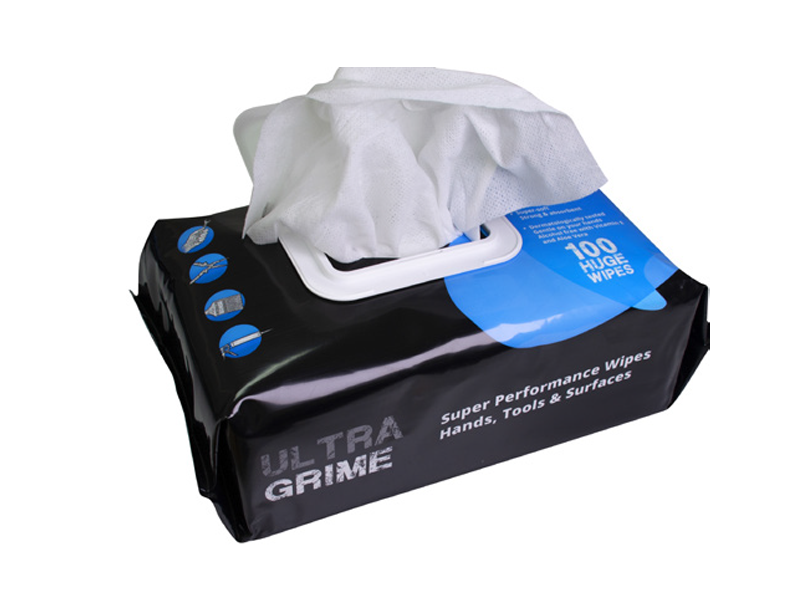 Ultra Grime Industrial Wet Wipes