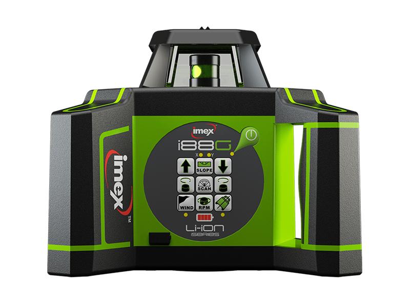 Imex i88G Rotating Laser Kit