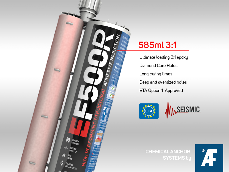 EF500R High Performing Structural Adhesive Injection