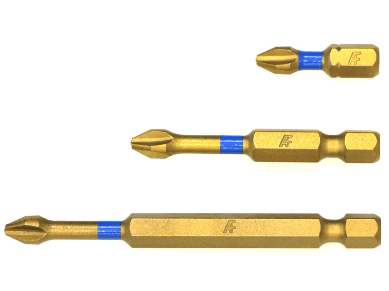 AF® Phillips Ti-N Impact Bits