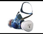 Maxiguard Silicone Half Mask Respirator Twin Filter R7500P