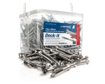 Deck-It Stainless Steel Self Drilling Deck Screws