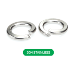 Spring Washer 304 Stainless Metric DIN127B
