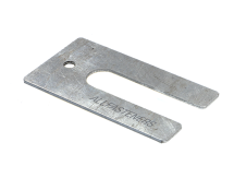 75mm x 40mm Aluminium Horsehoe Packers