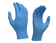 Nirtrile Blue Gloves Powder Free