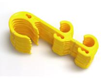 Yellow Power Lead Hooks