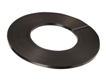 19mm x 0.5mm Steel Strapping Black 16kg Roll