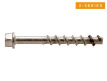 XSAH-S Concrete Screw-Anchor Hex 316 Stainless Seismic C1