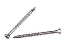 7g Trim Head T17 Square Drv 316 Stainless Deck Screws