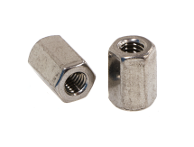 Hex Coupler Nut Metric 316 (A4) Stainless DIN 6334
