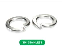 Spring Washer 304 Stainless Metric DIN127B