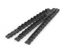 Black .27 Caliber Safety Strip Loads