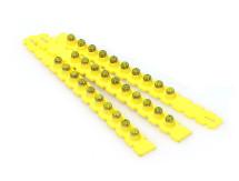 Yellow .27 Caliber Safety Strip Loads