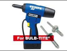GESIPA® Powerbird® Pro 18V Brush-less BULB-TITE Riveter