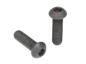 Button Head Socket Screw Unplated Gr12.9 High-Tensile Metric