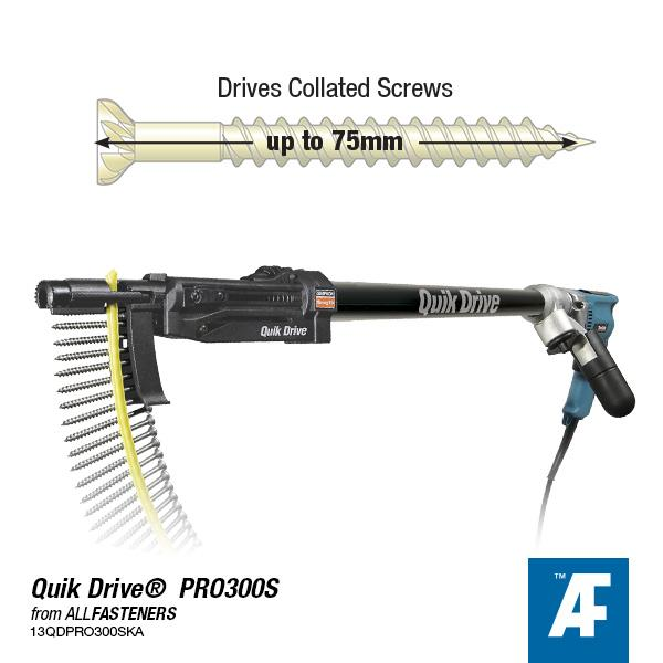 Quik Drive® PRO300s Auto-Feed Screw Driving System