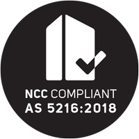 AS5216:2018 Compliant Logo