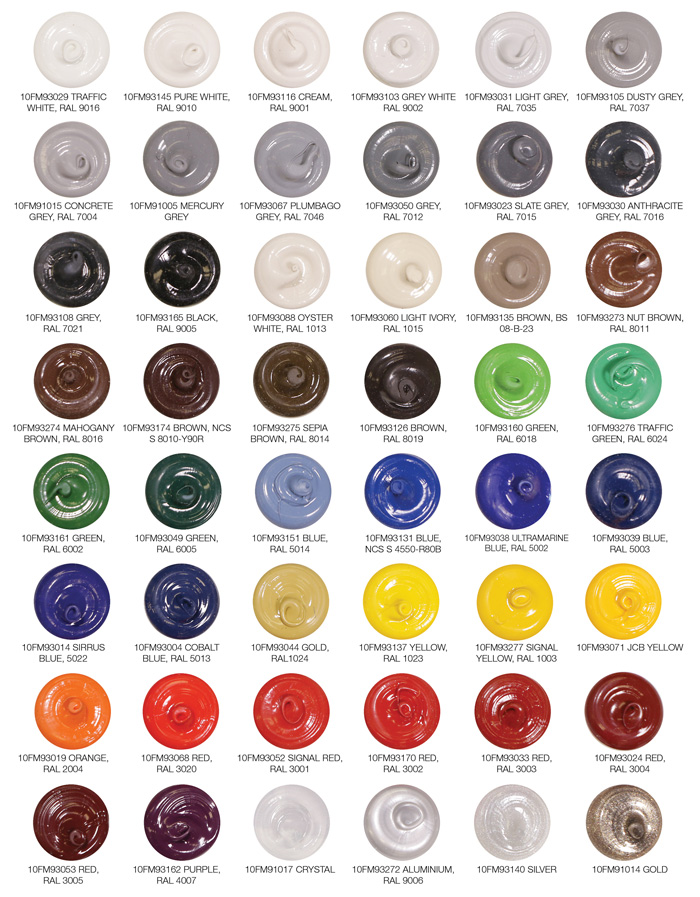 Silicone Sealants Over 50 Colours Available | Allfasteners