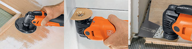 Oscillating Multitool Application